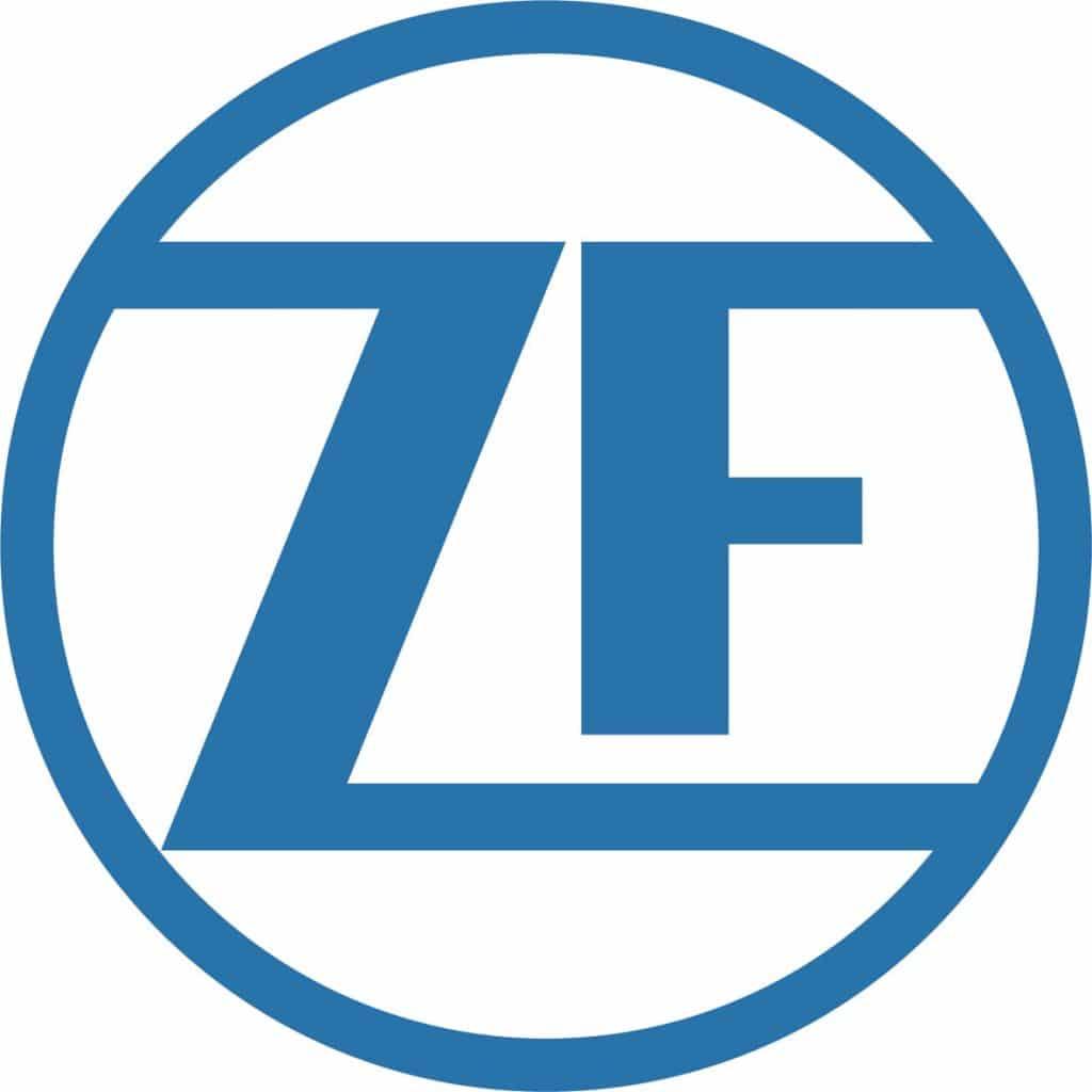 ZF logo STD Blue 4C