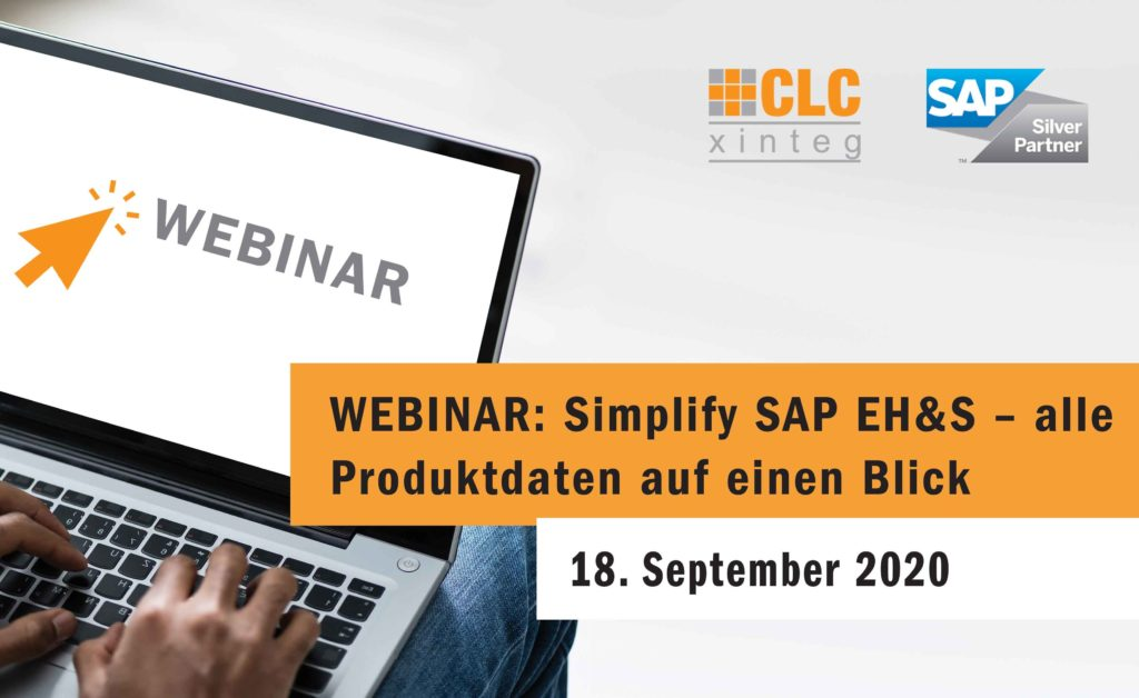 Banner Webinar Simplify SAP EHS 2020 09 18