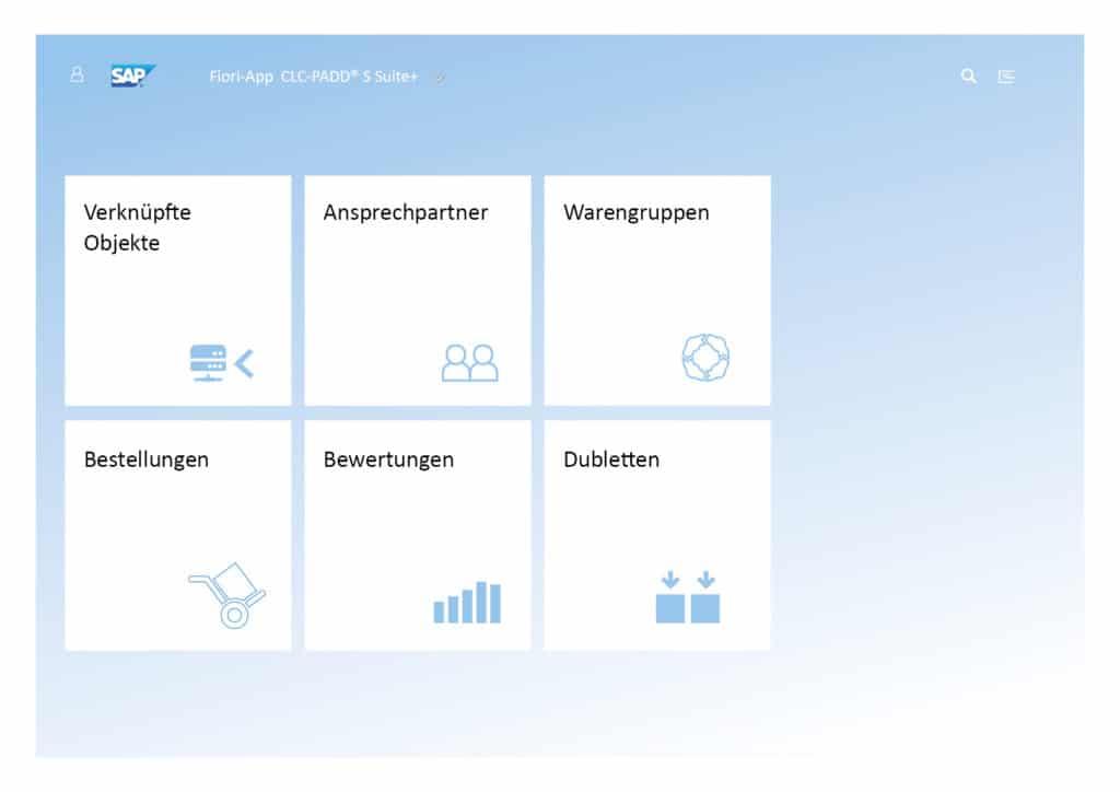 Screenshot Lieferanten Launchpad