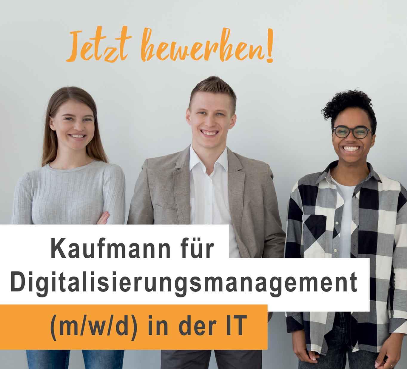 Banner Recruiting Businessman Digitalization Management