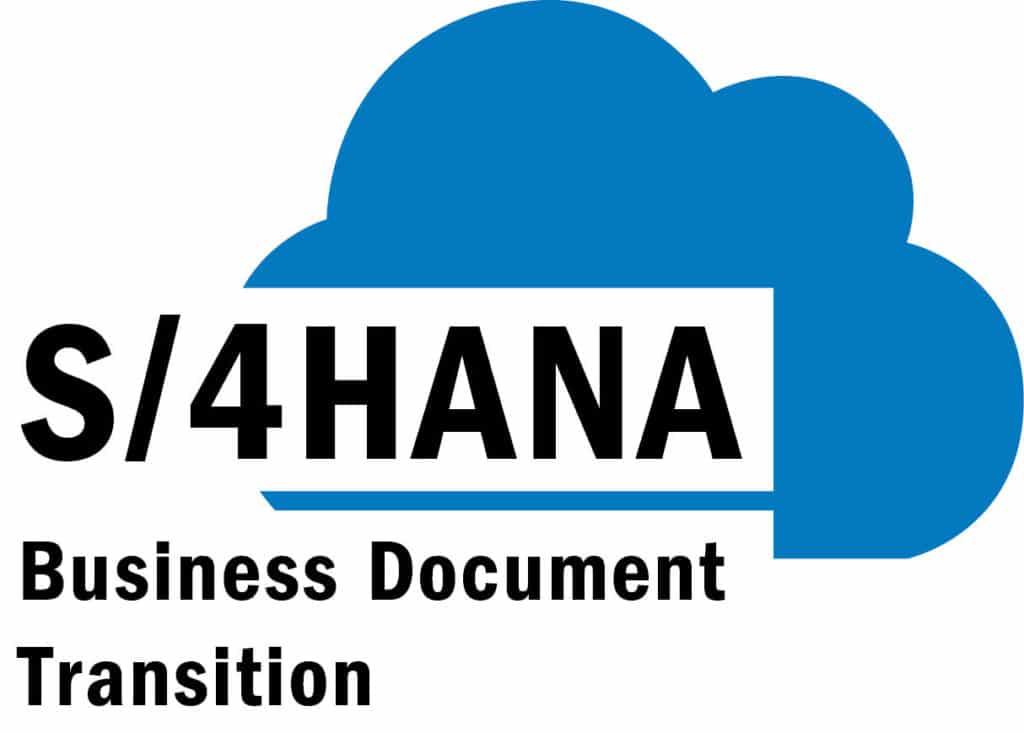 s4HANA Grafik Business Document Transition